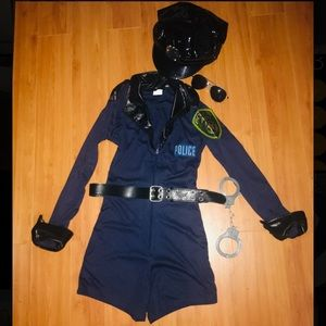 Leg Avenue Sexy Police Officer Halloween Costume